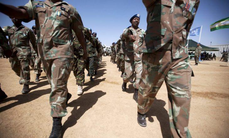 Afrika Jugore përdorë ushtrinë për të luftuar krimin