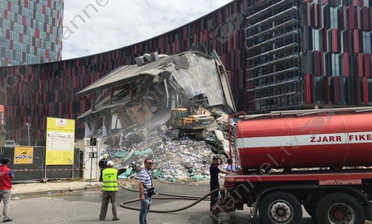 Shembet objekti pranë stadiumit 'Arena Kombëtare', pronarët: nuk kemi qenë të lajmëruar