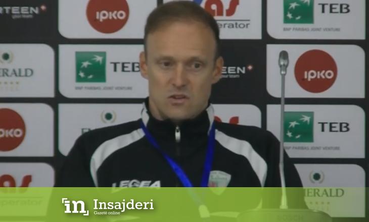Trajneri i TNS deklarohet pas fitores kundër Feronikelit