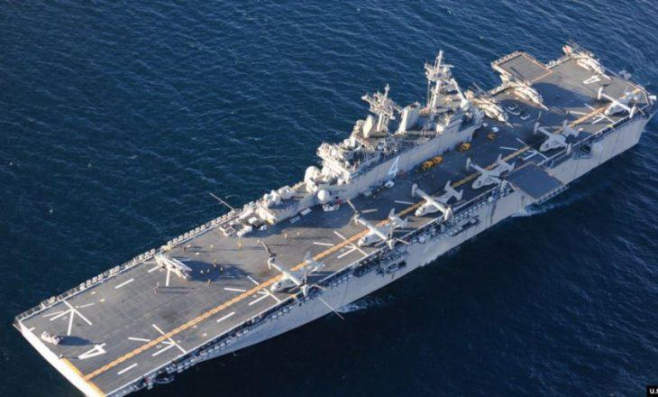 Anija amerikane rrëzon dronin iranian në Ngushticën e Hormuzit