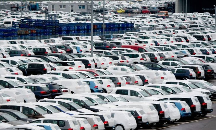Bien shitjet e veturave në vendet e BE-së