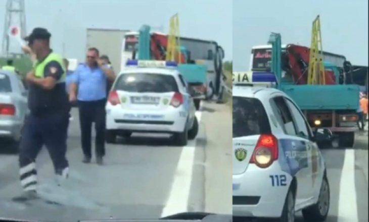 Publikohen pamjet nga momenti i aksidentit të autobusit nga Kosova