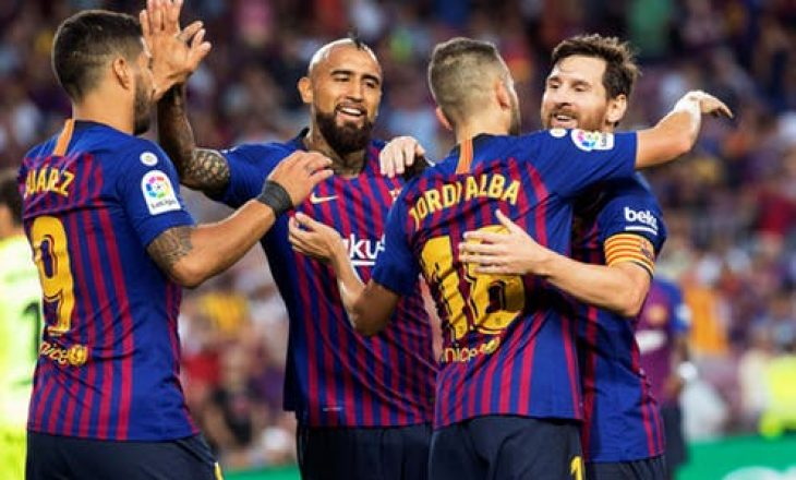 Barcelona me këtë rekord të pabesueshëm