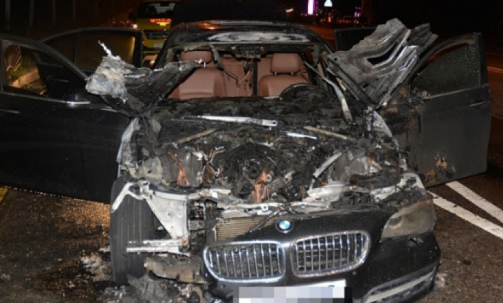 I digjet BMW-ja ferizajases, kushtonte 15 mijë euro