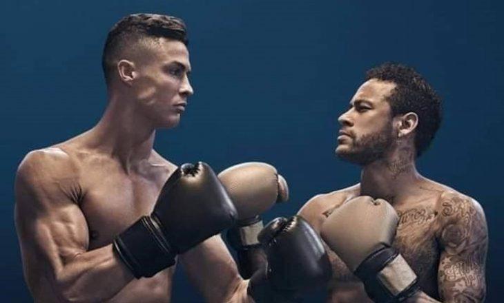Neymar dhe Ronaldo 'rrihen' në ring