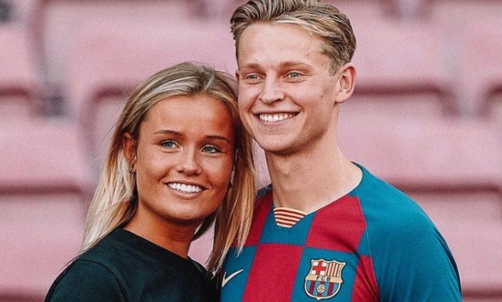 De Jong te Barcelona, mesazh emocionues i të dashurës së tij (FOTO)