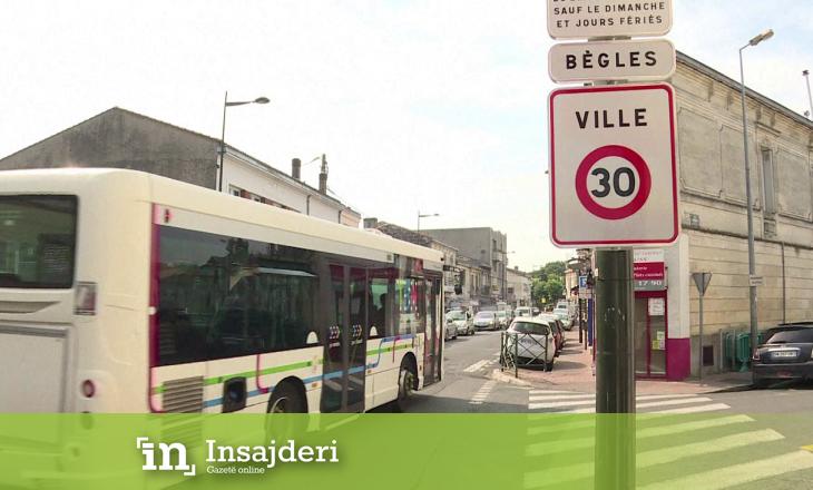 Qyteti francez kufizon shpejtësinë, në 30 km në orë