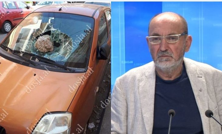 Versioni i Fatos Lubonjës për sulmin ndaj veturës së tij: Policia po gënjen