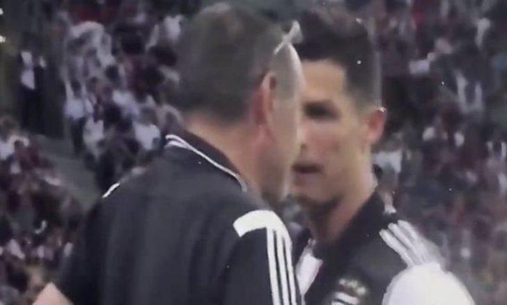 Çfarë po ndodh te Juventus: Sarri i jep shpjegime pas zëvendësimit Ronaldos