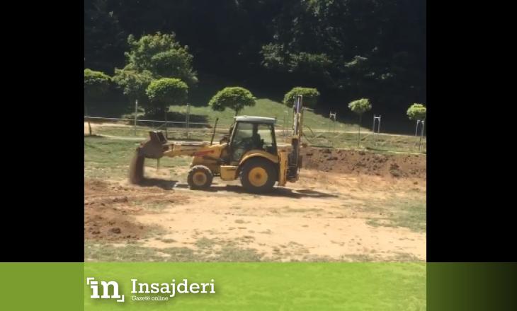 """Nis gërmimi i tokës në Gërmi për """"Sunny Hill"""" Festival"""