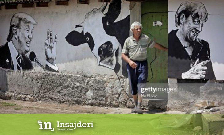 'Fake news', fotografia e Trump me një lopë nuk gjendet në Lupç të Podujevës