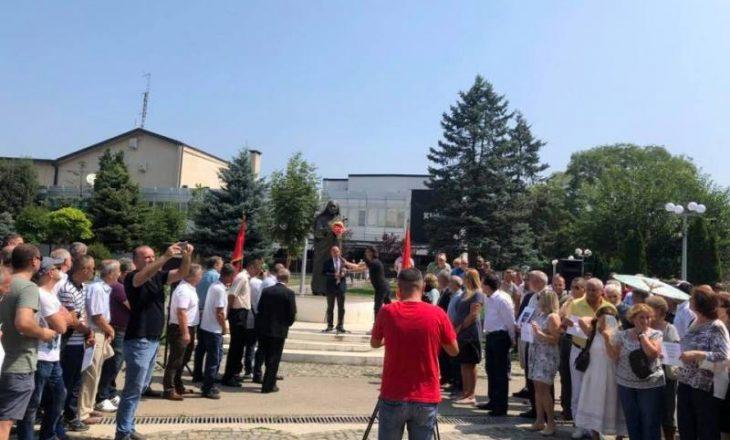 Gjakova proteston për Tomor Morinën