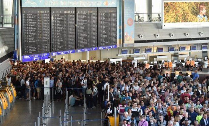 Aeroporti i Frankfurtit thyen rekord për udhëtarë brenda një dite