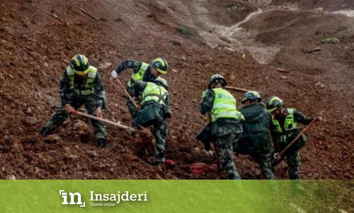 Arrinë në 36 numri i viktimave nga rrëshqitjet e dheut në Kinë