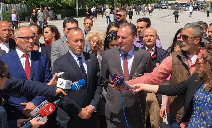 Limaj deklarohet për 'ofertën' e Haradinajt për koalicion