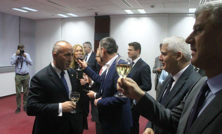 A kanë arritur marrëveshje Haradinaj me Thaçin për dialogun me Serbinë? – deklarohet Zyra e Kryeministrit