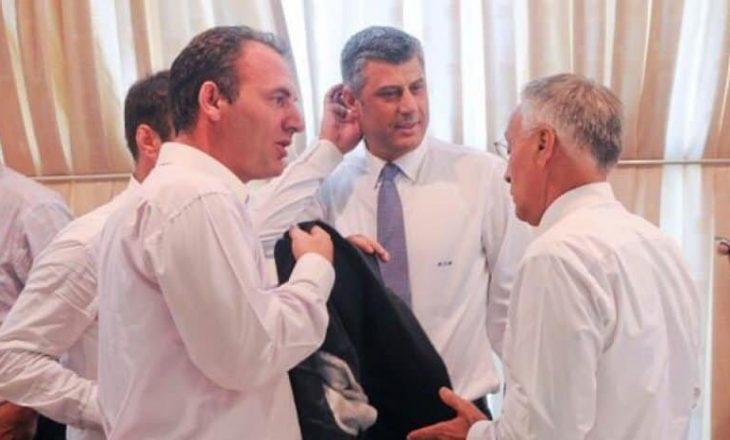 """Dikur e quante """"Jakupovski"""", sot presidenti Thaçi i del në krah Krasniqit"""