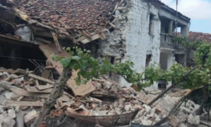 Tërmet në Korçë – Dëmtohen disa shtëpi