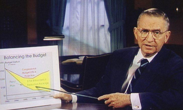 Vdes Ross Perot, miliarderi që tronditi politikën amerikane