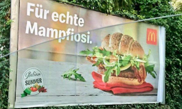 McDonald u kërkon falje italianëve