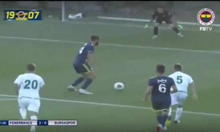 Muriqi, debutim ëndrrash, shënon dy gola për Fenerbahcen (VIDEO)