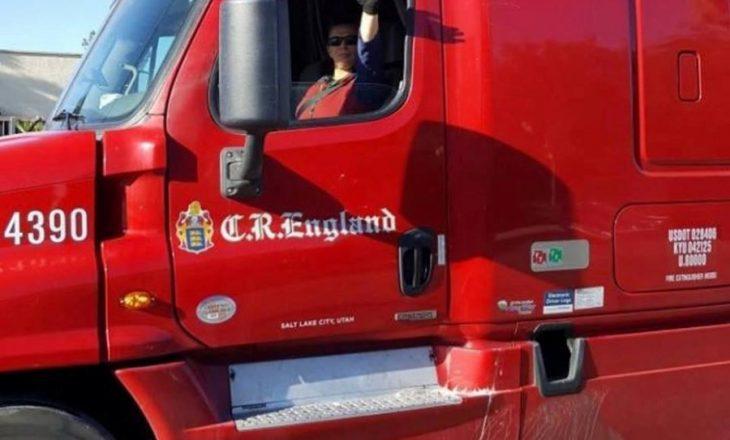 Rrëfimi për shoferen shqiptare që drejton kamionin 40 tonësh