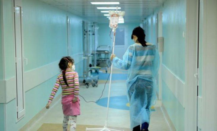 Mbi 70 fëmijë të infektuar me COVID-19 u trajtuan në Pediatri, më i vogli dymuajsh