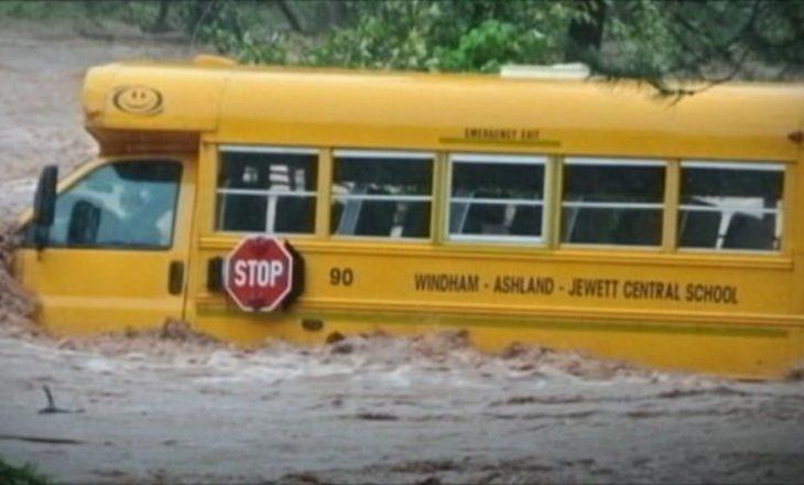Reshje të dendura shiu, New York-u nën 'presionin' e ujit