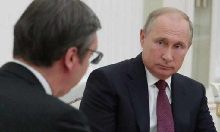 Ambasadori rus nesër ia dorëzon Vuçiqit mesazhin urgjent të Putinit për Kosovën
