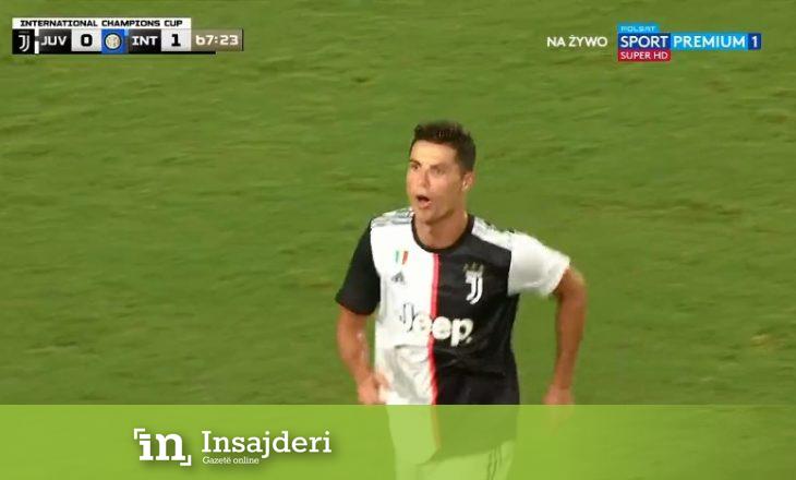 Super gol i Ronaldos për Juventusin [Video]