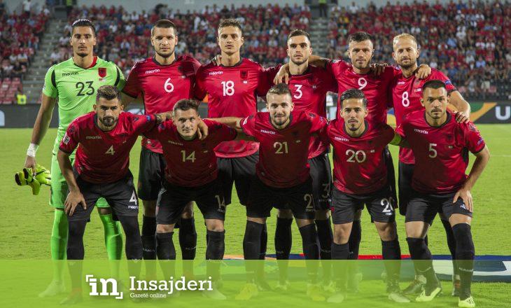 Kjo është pozita e Shqipërisë në renditjen e re të FIFA-s