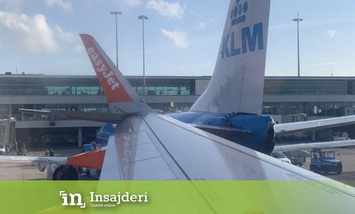Aksidentohen dy aeroplanë