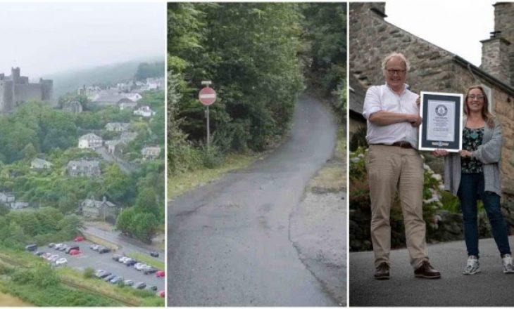 Qyteza që u fut në Guinness për rrugën më të pjerrët në botë