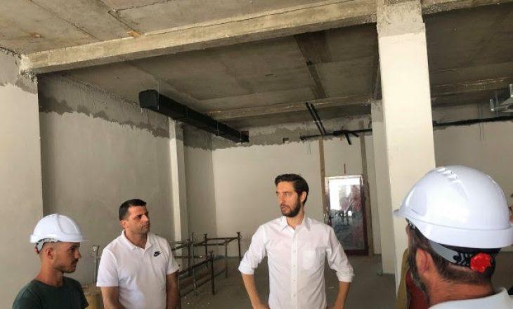 Ismaili: Qendra e Mjekësisë Sportive pritet të përfundojë para afatit të caktuar