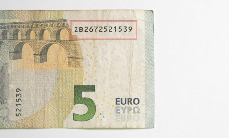 Kjo kartëmonedhë prej 5 euro vlen sa 500