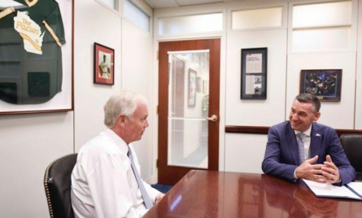 Veseli flet me senatorin amerikan për marrëveshjen Kosovë-Serbi