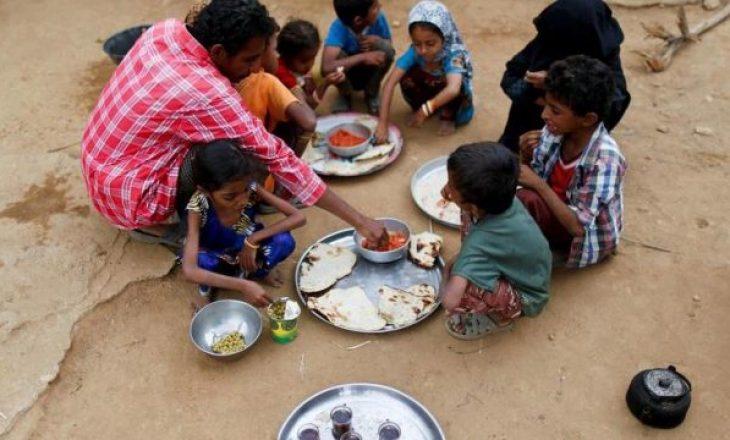 820 milionë njerëz në rrezik nga uria