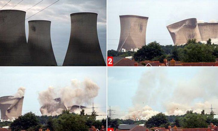 Tri kulla bëhen shkrumb e hi në Britani