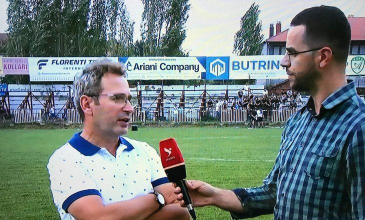 Bekim Shotani: Lojtarët e mi kishin ngarkesë psikologjike në takim me Trepçën'89