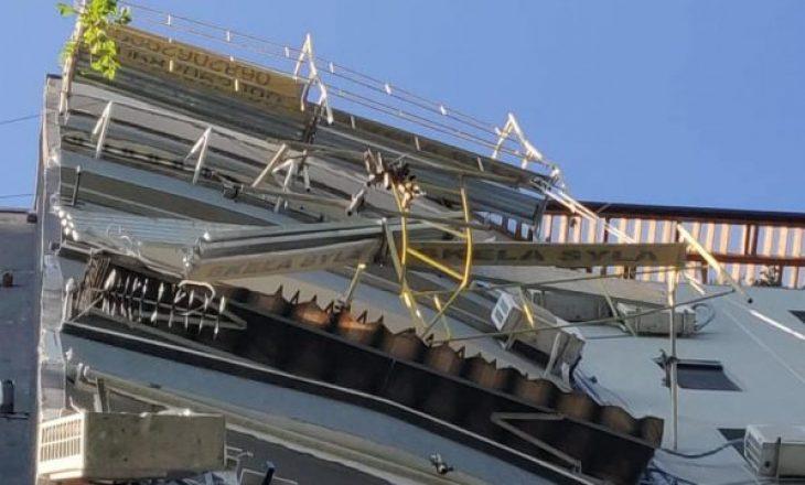 Raportohet për renovimin e fasadave të ndërtesës nga Erion Veliaj, heshtin për tragjedinë ku vdiqën dy punëtorë