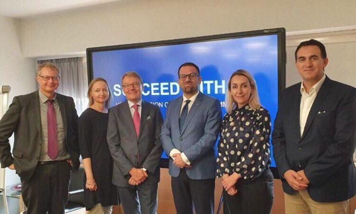 Rektori Hajrizi në vizitë zyrtare në Finlandë, thellon bashkëpunimin me institucione e universitete