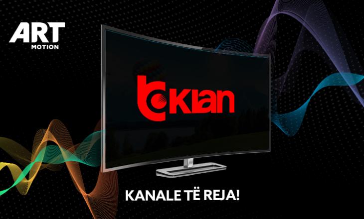 Klan TV, Klan Plus dhe Klan Music janë kanalet më të reja të platformës Artmotion