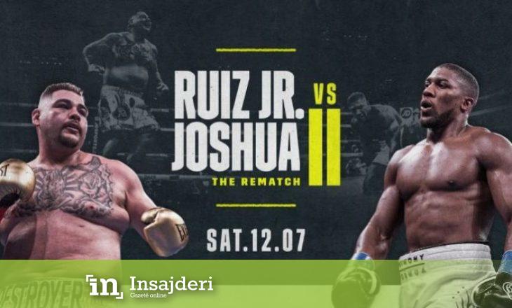 Rimeçi ndërmjet Joshuas dhe Ruizit mund të ndryshojë boksin përgjithmonë