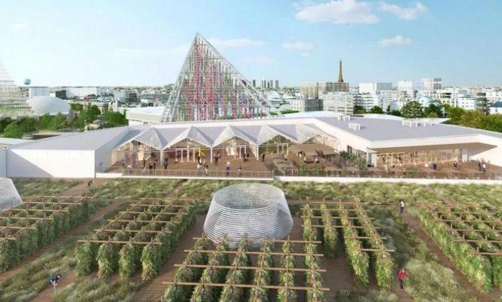 Mbi një çati në Paris, ferma më e madhe urbane në botë