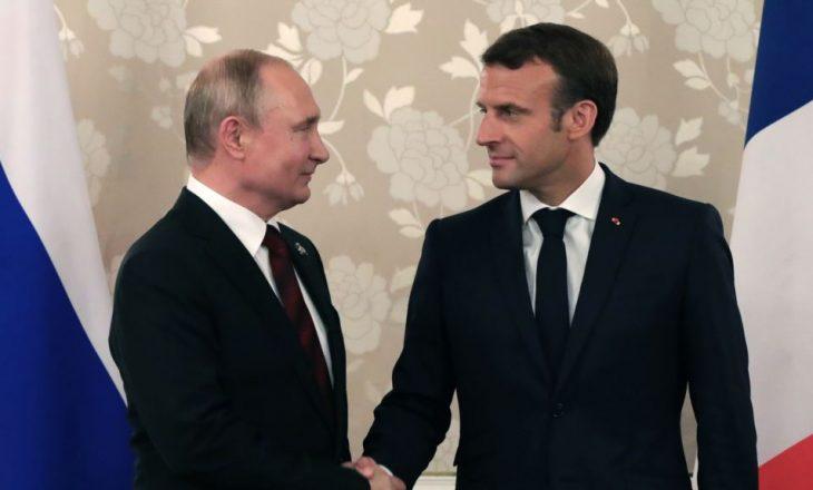 Replika Macron-Putin për protestat