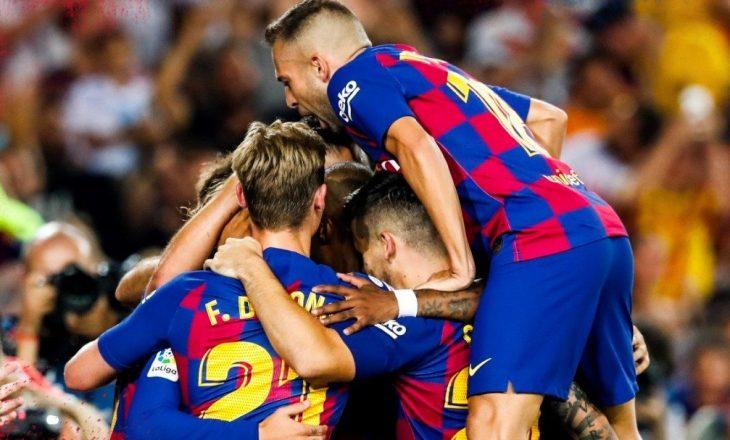 Barcelona 'shkel' Real Betisin [Video]
