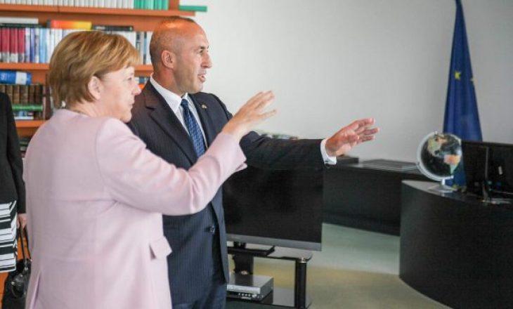 Haradinaj-Merkelit: BE-ja do të jetë më e fortë me gjashtë shtetet e Ballkanit Perëndimor