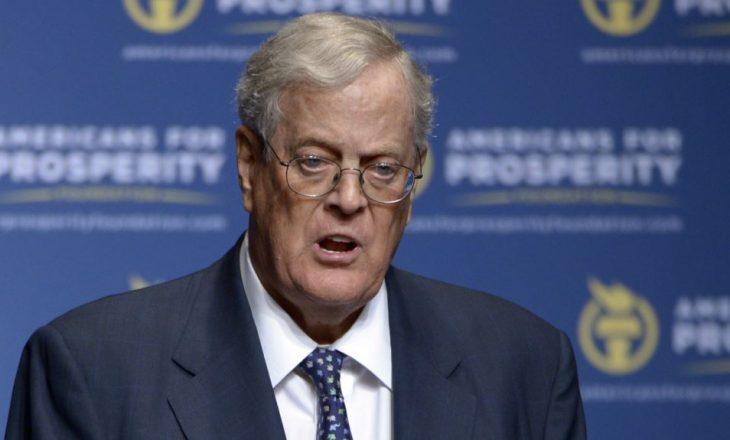 Vdes miliarderi amerikan David Koch