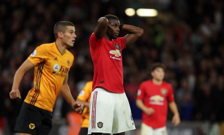 Legjenda e Unitedit shpërthen pas penalltisë së humbur të Pogbas