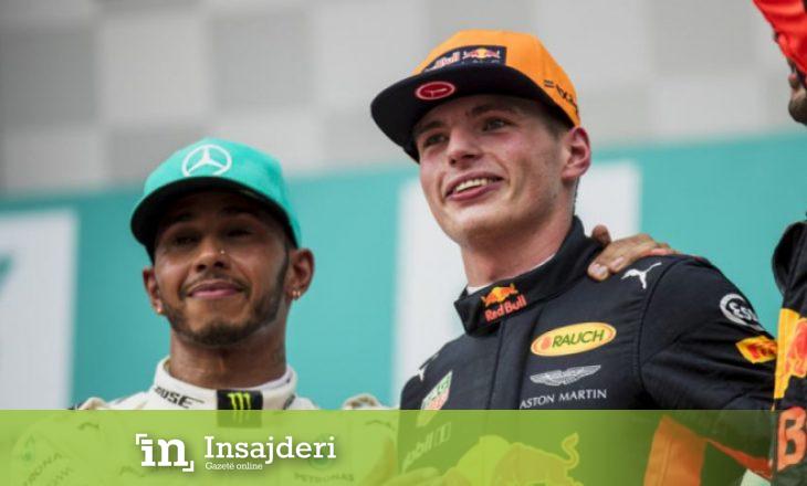 Verstappen: Hamiltoni është shofer i thjeshtë me makinë të mirë
